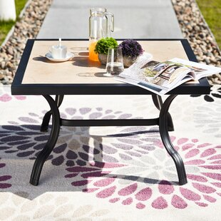 Rozek Outdoor Coffee Table