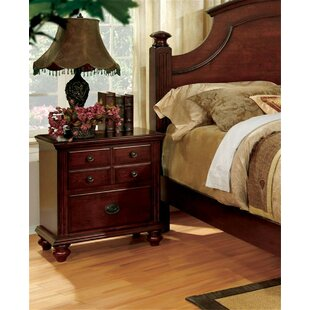 Ortiz 2 Drawer Nightstand