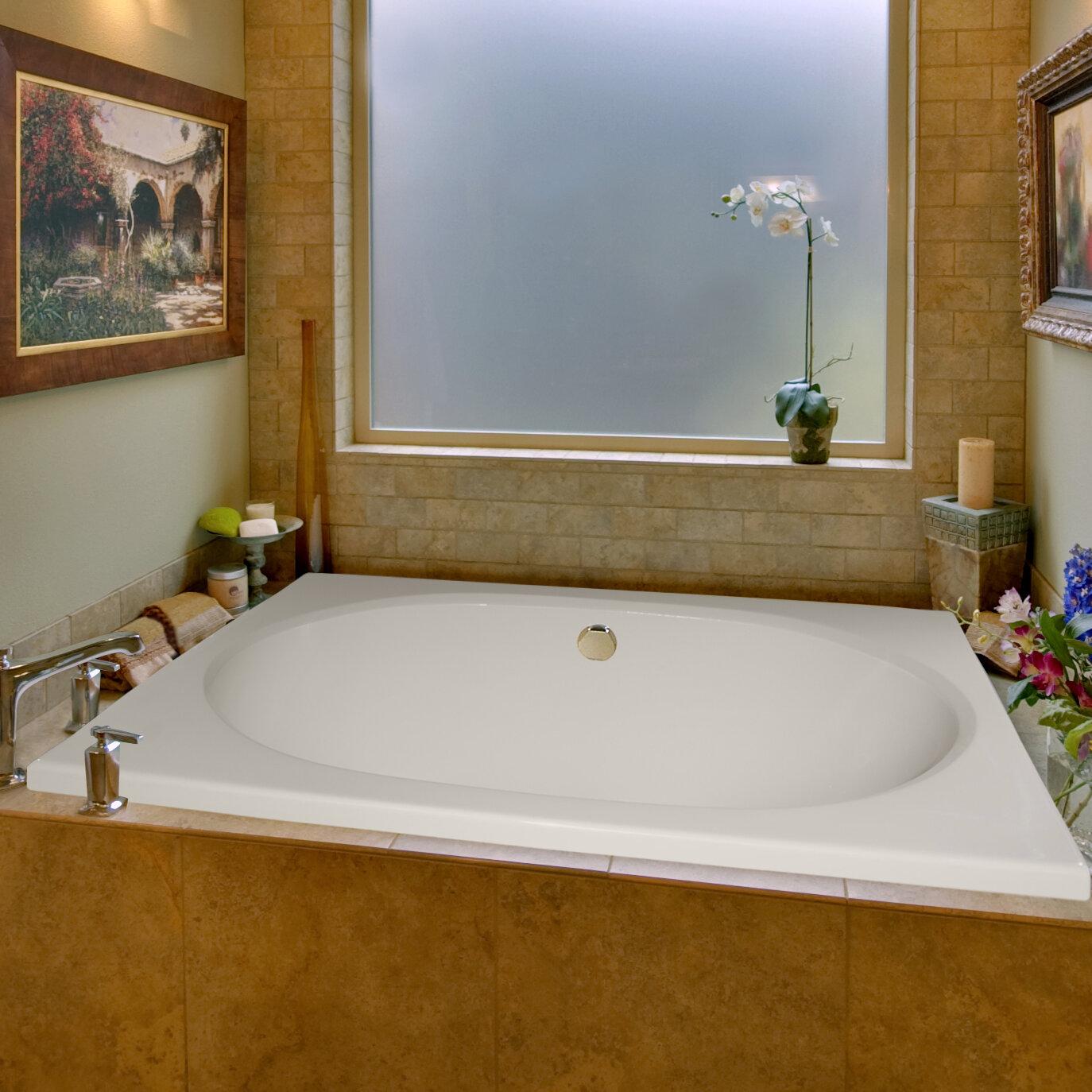 """Hydro Systems Designer Fuji 60"""" X 40"""" Soaking Bathtub"""
