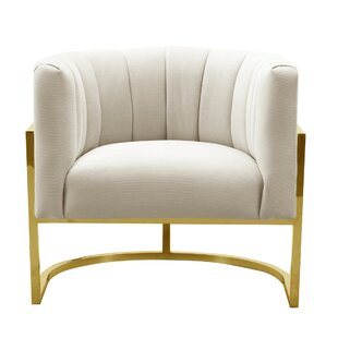 Wilton Barrel Chair by Everly Quinn