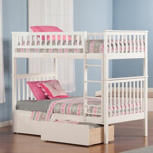Order Shyann Twin Bunk Bed with Storage by Viv + Rae Reviews (2019) & Buyer's Guide