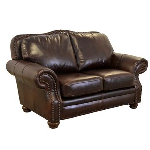 Reviews Parker Leather Loveseat by Westland and Birch Reviews (2019) & Buyer's Guide