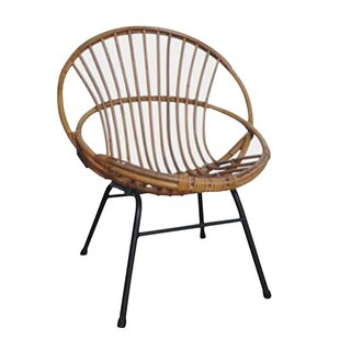 Centralmont Lacquered Armchair By Bay Isle Home
