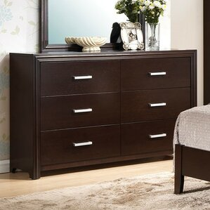 Wen 6 Drawer Included Standard Dresser by Latitude Run
