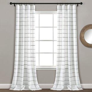 Modern Striped Curtains D