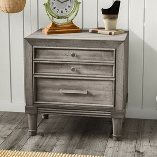 Laurel Foundry Modern Farmhouse Saratoga 2 Drawer Nightstand