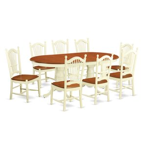 Plainville 9 Piece Dining Set by East Wes..