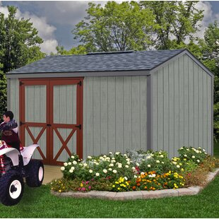 Best Barns Cypress 10 ft. W x 12 ft. D Solid Wood Storage Shed