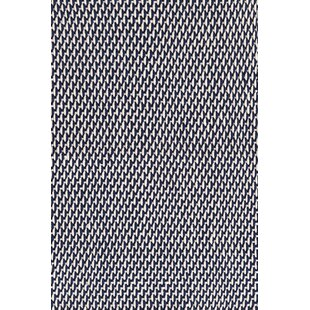 Two-Tone Rope Hand Woven Navy/Ivory Indoor/Outdoor Area Rug