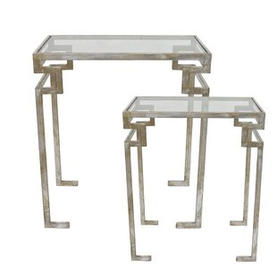 Key 2 Piece Nesting Tables by Selectives