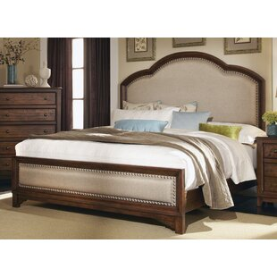 Momea Upholstered Panel Bed By World Menagerie
