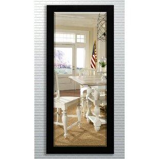 Great Price Rectangle Beveled Black Wall Mirror ByBrayden Studio