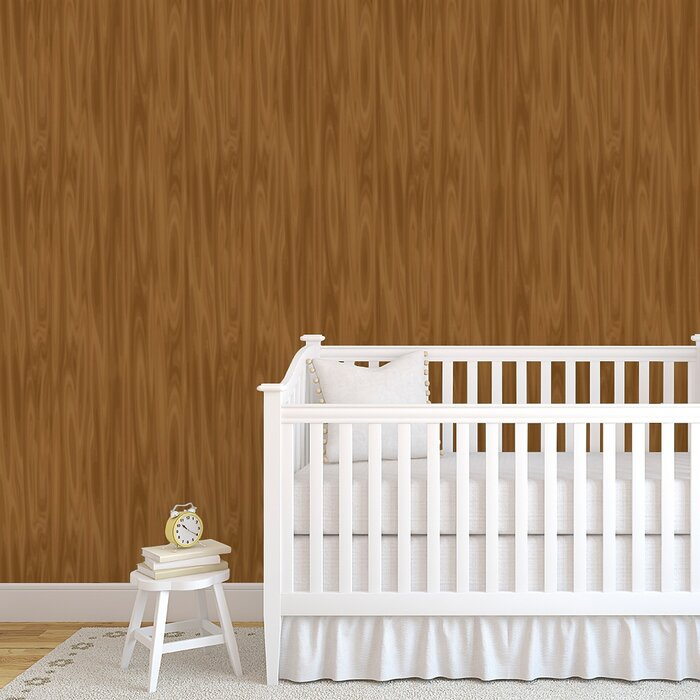 Dahl Woodgrain 48 L X 24 W Paintable And Stick Wallpaper Panel