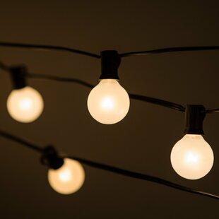 50 ft. 50-Light Globe String Light