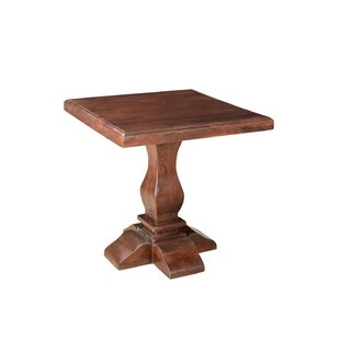 Maliyah Pedestal End Table