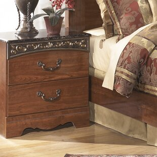 Best Choices Viburnum 2 Drawer Nightstand by Fleur De Lis Living