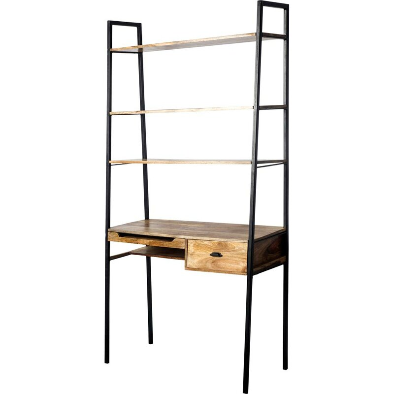 17 Stories  Cecil Solid Wood Leaning/Ladder Desk