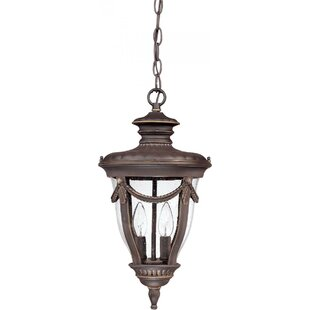 Nuvo Lighting Philippe 2-Light Outdoor Hanging Lantern