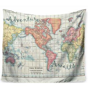 World Map Tapestries You Ll Love Wayfair