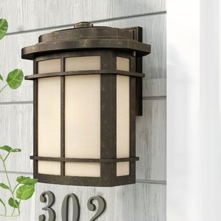 Womack 1-Light Incandescent Outdoor Wall Lantern