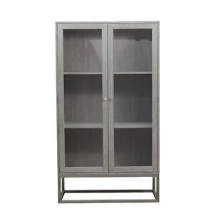 Ormond Modern 2 Shelf Display Curio Cabinet