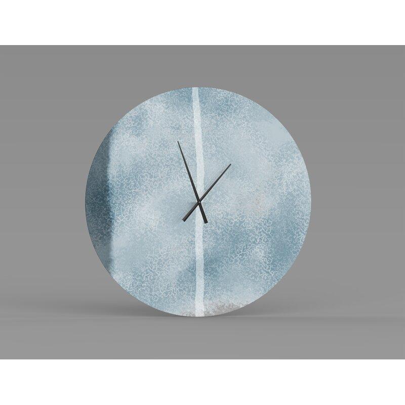 East Urban Home Sealcove Wall Clock Wayfair
