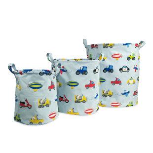 Check Prices Kaylie Fabric 3 Piece Storage Bin Set ByZoomie Kids