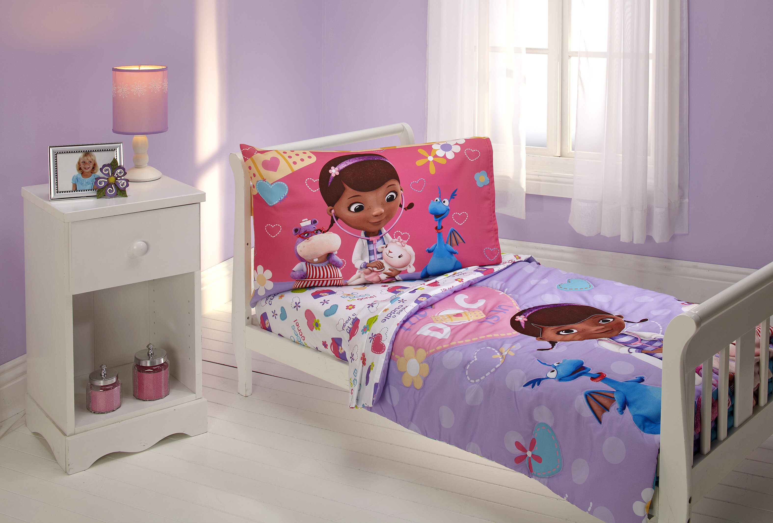 Disney The Doc Is In 4 Piece McStuffins Toddler Bedding Set Reviews