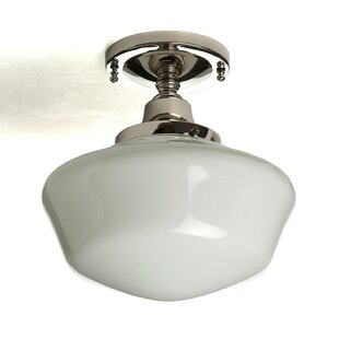 Fredericksen 1-Light Semi Flush Mount by Darby Home Co