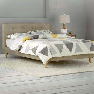 Rasmussen Upholstered Platform Bed by Langley Street