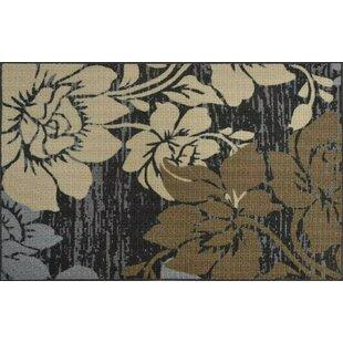 Paris,Thin Non-Slip Kitchen Bathroom Carpet 36x 60 Rose Flowers Romantic Small Rugs