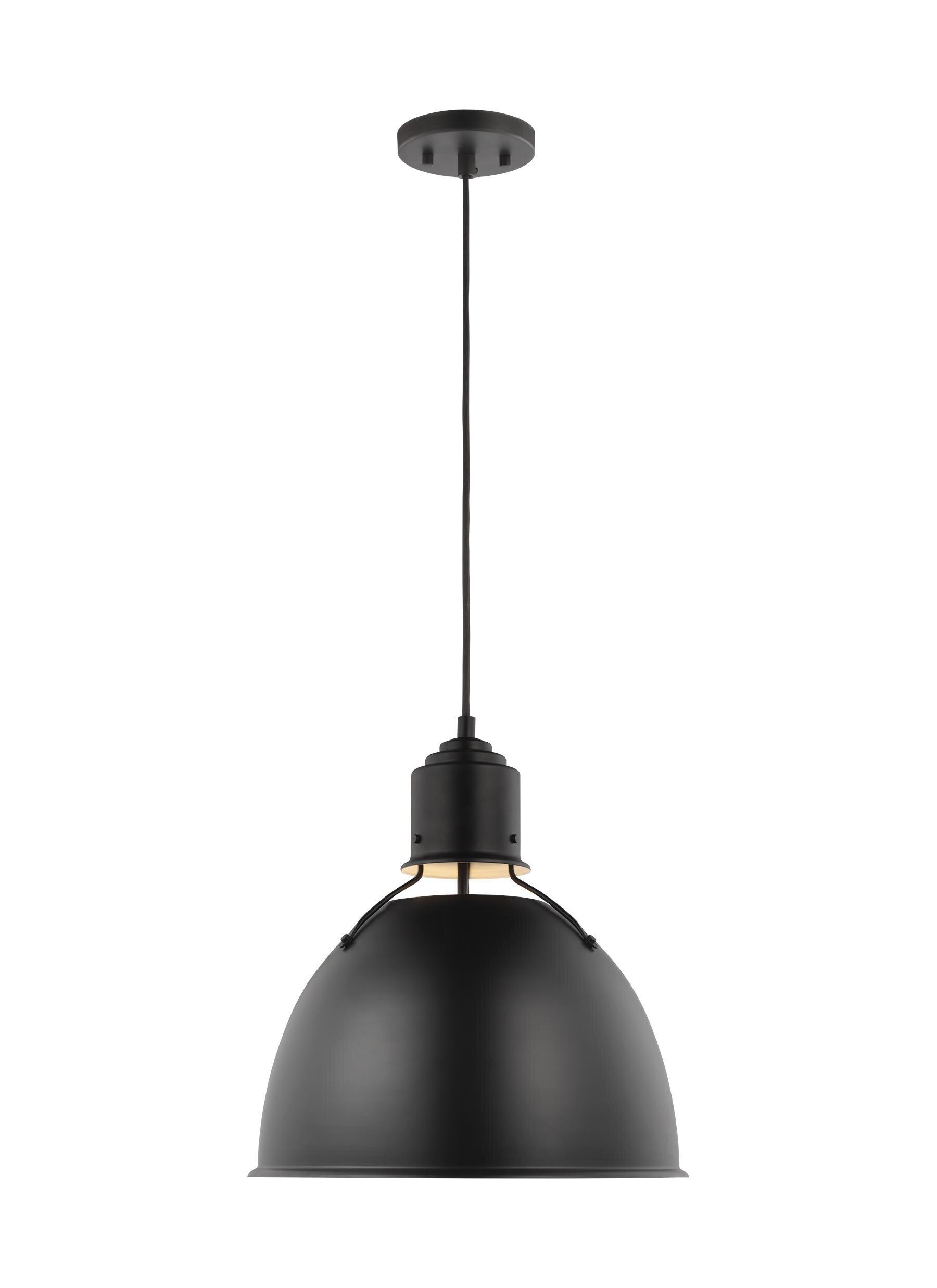 1 Light Dome Pendant Lighting You Ll Love In 2021 Wayfair