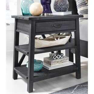 Aaliyah Open 1 Drawer Nightstand by Gracie Oaks