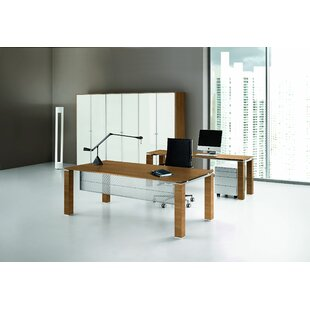 Jannie Executive Desk By Ebern Designs