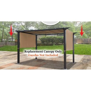 18' x 8.3' Universal Replacement Canopy Top Cover for Pergola Structure (Tan) by Sunrise Outdoor LTD