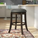 Stuckey 29 Swivel Bar Stool by Williston Forge