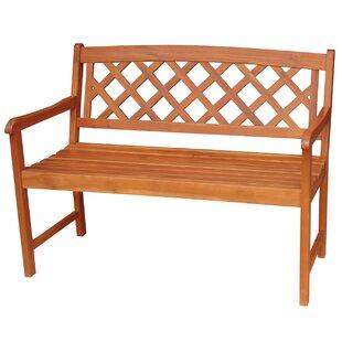 X-Back Hardwood Garden Bench