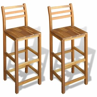 Decker 30 Bar Stool (Set of 2) August Grove