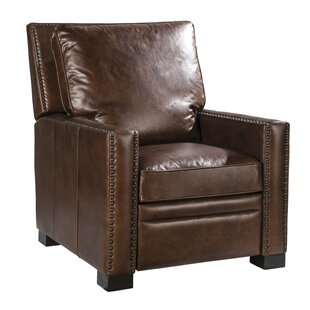 Britt Leather Recliner by Palatial Furniture