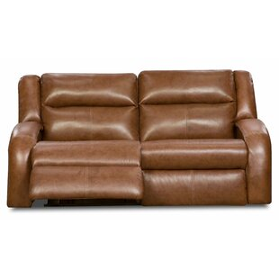 Maverick Leather Reclining Sofa by Southern Motion