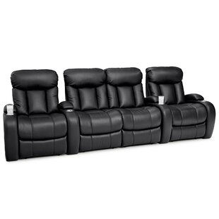 Latitude Run Home Theater Row Seating (Row of 4 with Middle Loveseat)