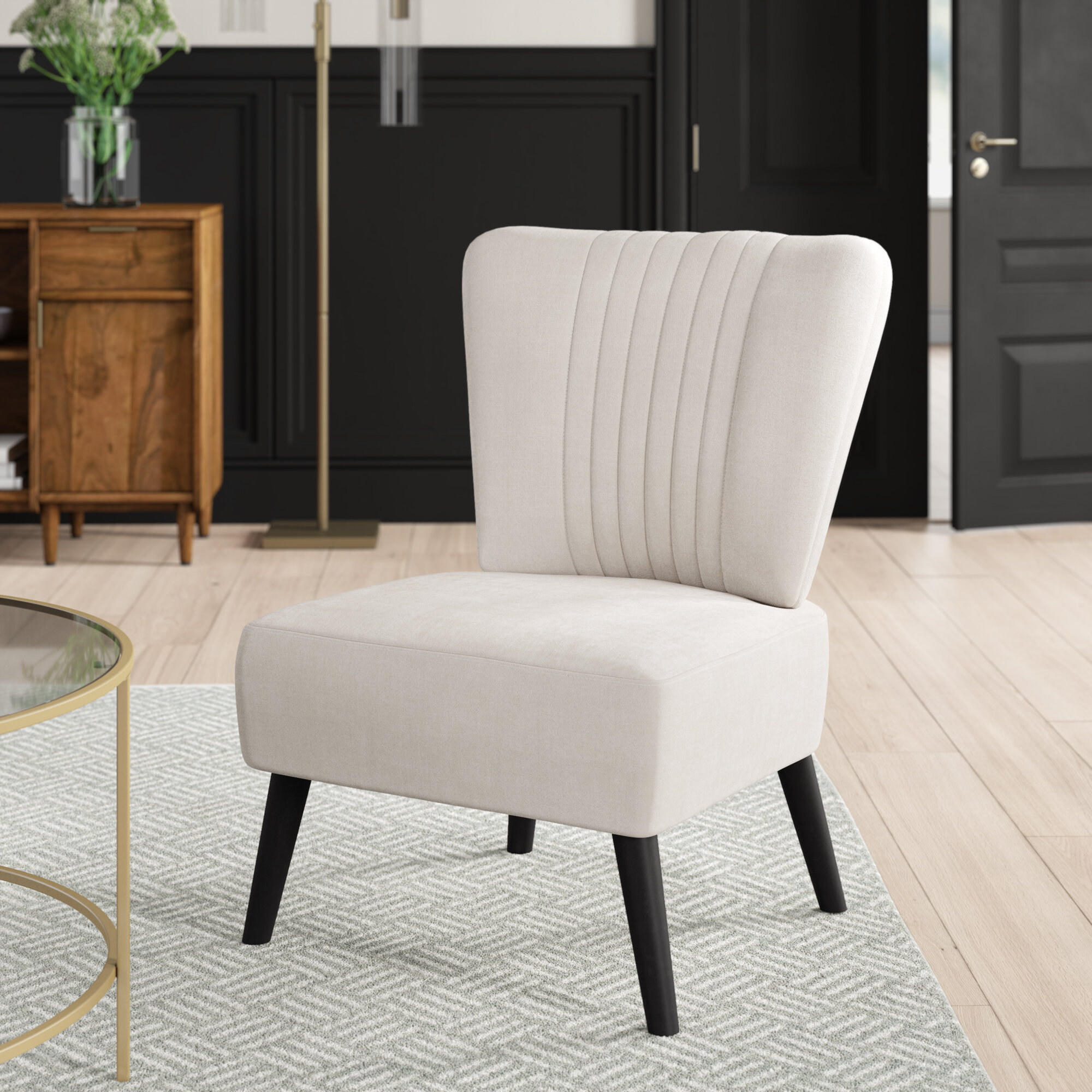 Mercury Row Trent 25 2 W Side Chair Reviews Wayfair