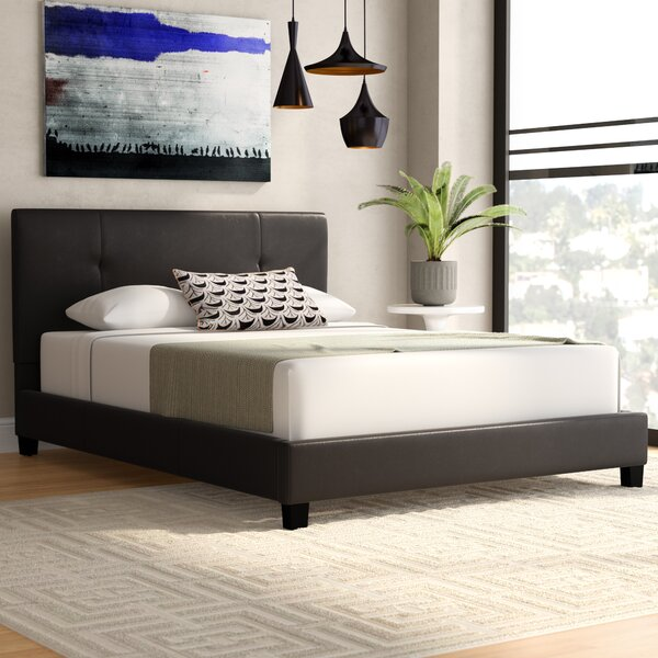 Wade Logan Miranda Upholstered Platform Bed & Reviews by Wade Logan