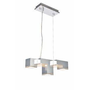 Orren Ellis Corbyn 5-Light LED Kitchen Island Pendant