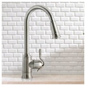 Moen Woodmere Single Handle Pull Down Kitchen Faucet