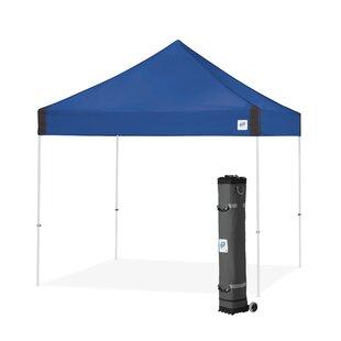 E-Z UP Vantage 10 Ft. W x 10 Ft. D Steel Pop-Up Canopy