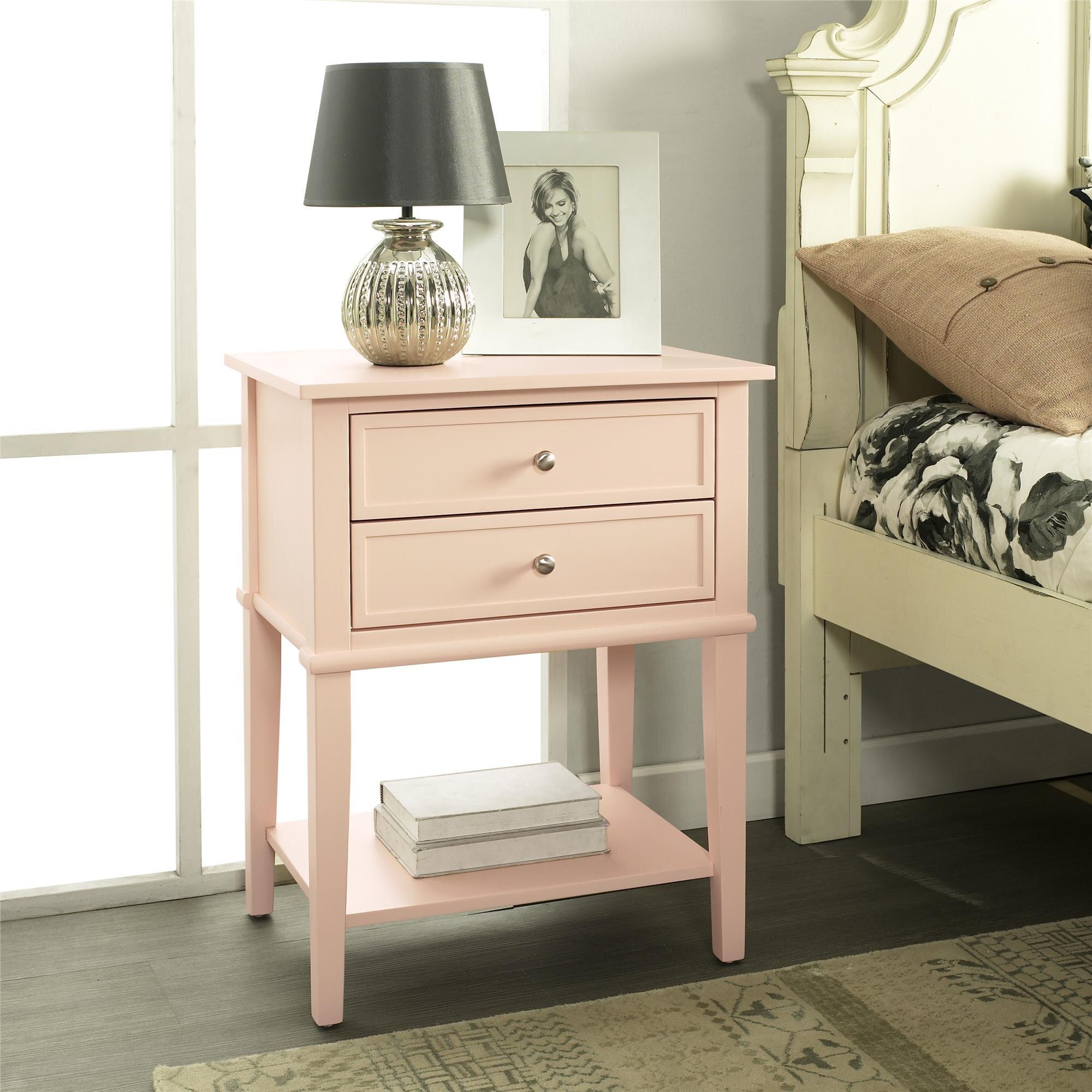 Pink Nightstands You Ll Love In 2021 Wayfair