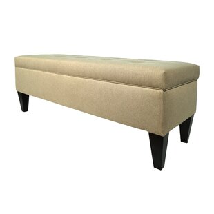 Ari Wood Storage Bench Alcott Hill