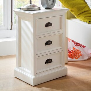 Very narrow bedside table wayfair amityville 3 drawer nightstand watchthetrailerfo