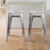 Purcell Backless Metal 24 Bar Stool (Set of 2) by Williston Forge